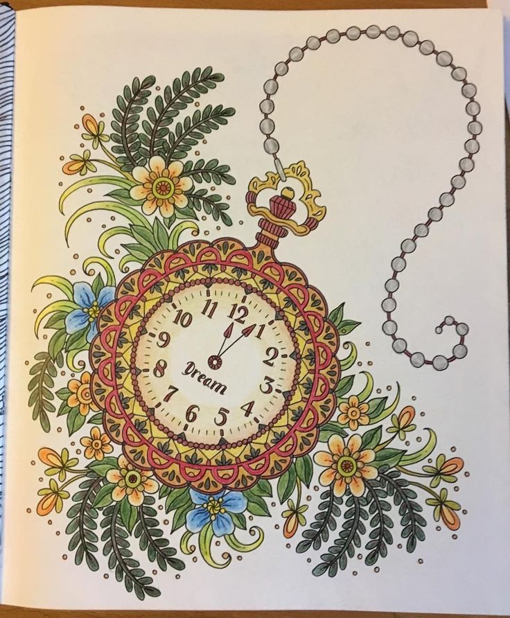 "Ulla Eriksson (@ullame) på Instagram: ""#summernight #coloringbook #hannakarlzoncoloringbook"""