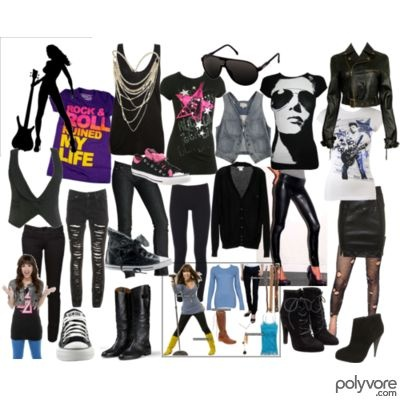 what to wear for glam rock party