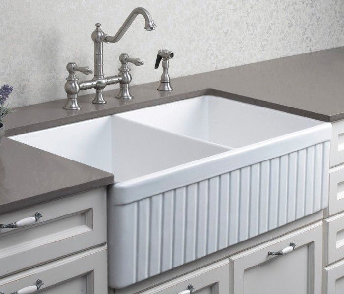 17 Best Images About Kitchen Sink On Pinterest: Double Ribbed Belfast Sink