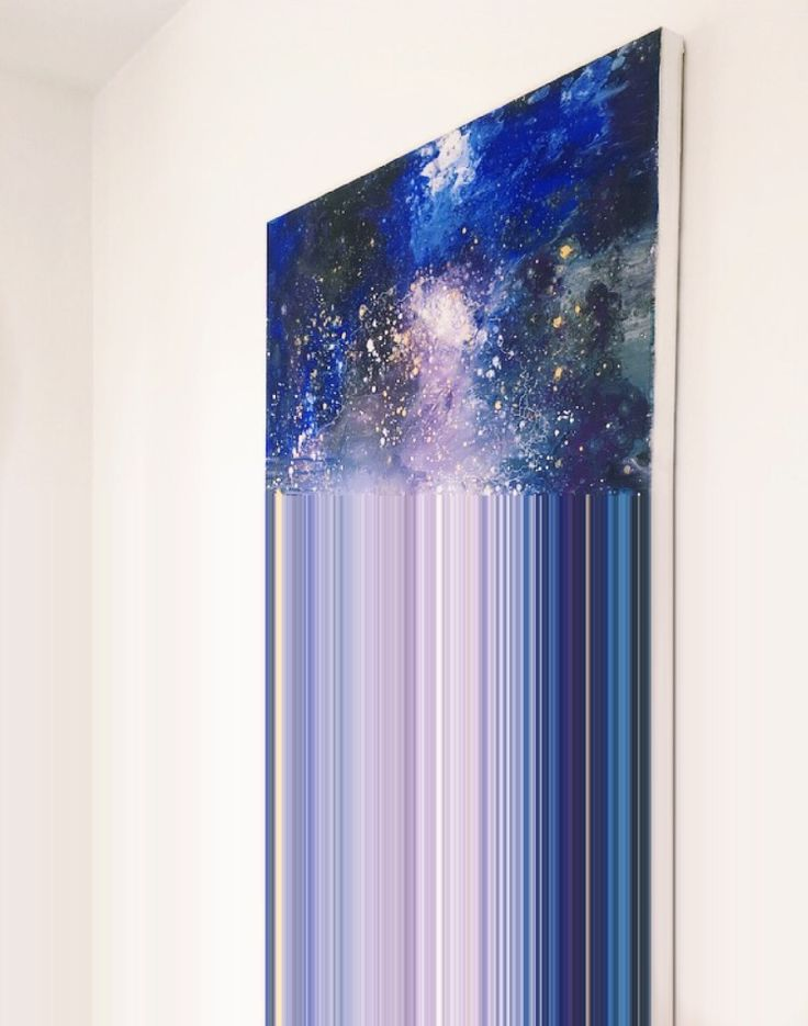 Abstract Art - Space Painting Anna Edholm