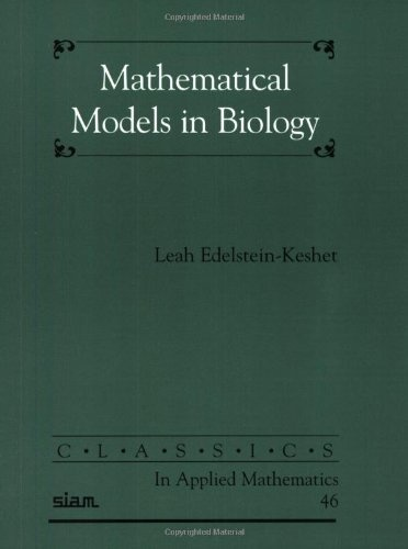 Mathematical Models in Biology (Classics in Applied Mathematics) by Leah Edelstein-Keshet, http://www.amazon.com/dp/0898715547/ref=cm_sw_r_pi_dp_OboWpb0WMPXWG