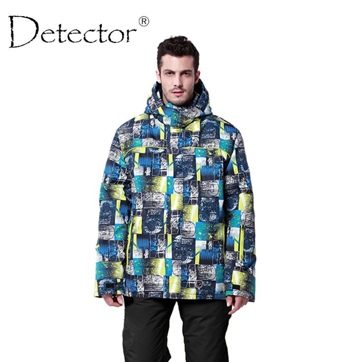 Detector 2016 Men's Ski Jacket Winter Outdoor Ski Suit Waterproof Windproof Breathable Ski Jacket Men Warm Snowboard Jacket Men