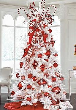 Dress up your Christmas tree or gift wrapping with the Red Felt with Chenille Dots Ribbon adds the cheer and style.