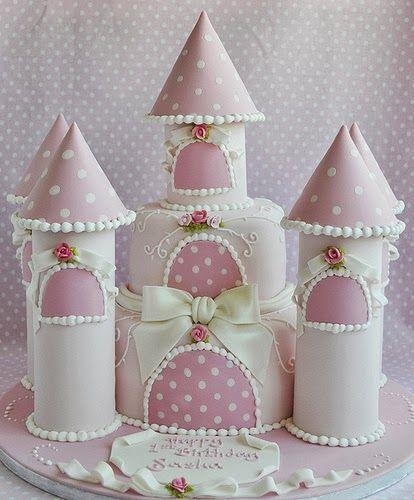 Castillo de princesa. Tartas originales.                              …