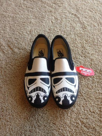 The Best Geek Shoes, star wars