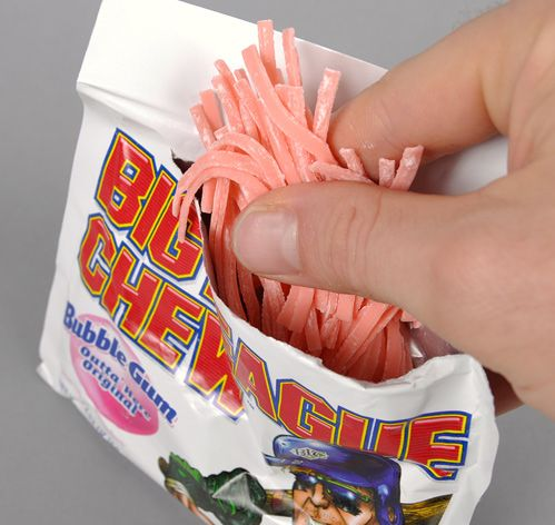 "Big League Chew (bubble-gum ""chewing-tobacco"") - In retrospect, not the best message to be sending to kids! #nostalgia"