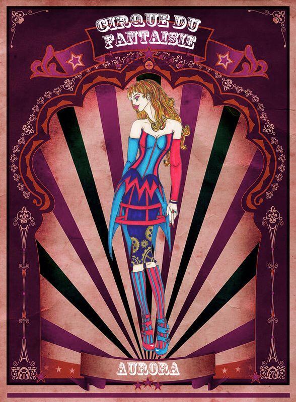 Aurora by Louise's Designs (c) 2015