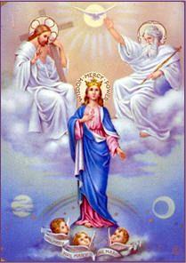 Reina llevada al Cielo ¡Ruega por nosotros!