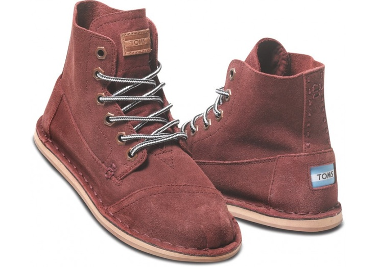 Burgundy Suede Women's Tomboy Boot hero: These are hideous! I love them!