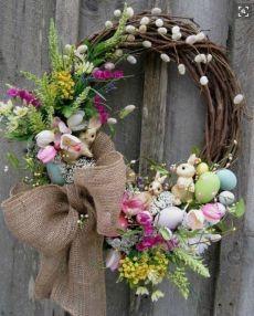 Весенние пасхальные венки - Домашний hand-made