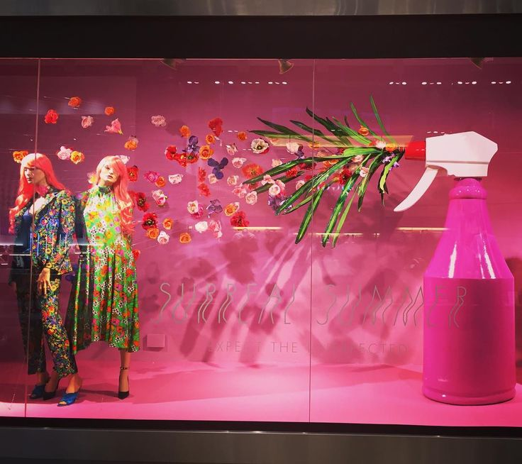 "Harvey Nichols' Surreal Summer window series certainly lives up to its tagline, ""Expect the Unexpected""."
