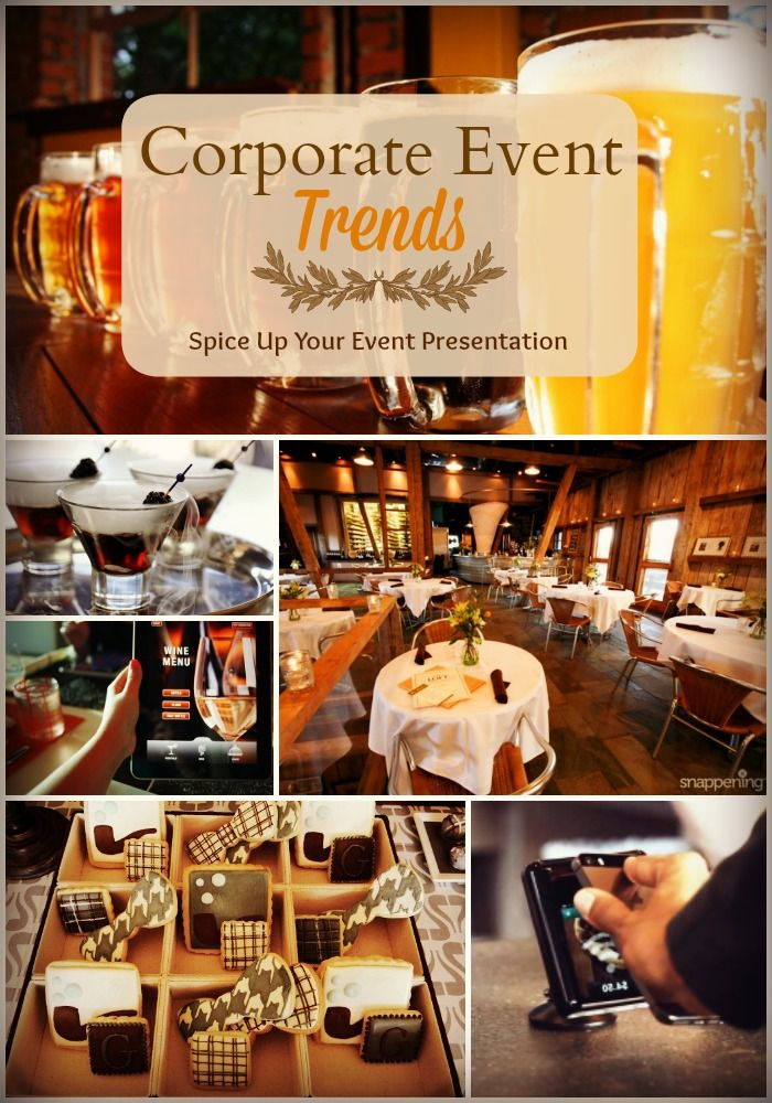 Corporate event trends spice up your company event for Decoration business