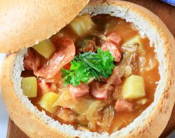 Easy Cabbage Recipes: 12 Slow Cooker Cabbage Recipes We Love. From stuffed cabbage rolls to cabbage soup, this collection has them all.
