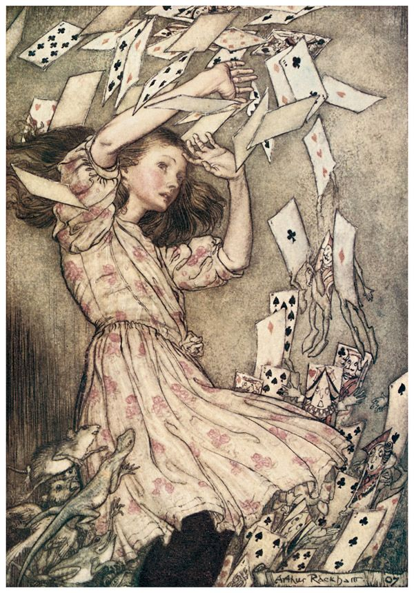 Arthur Rackham. Alice in Wonderland