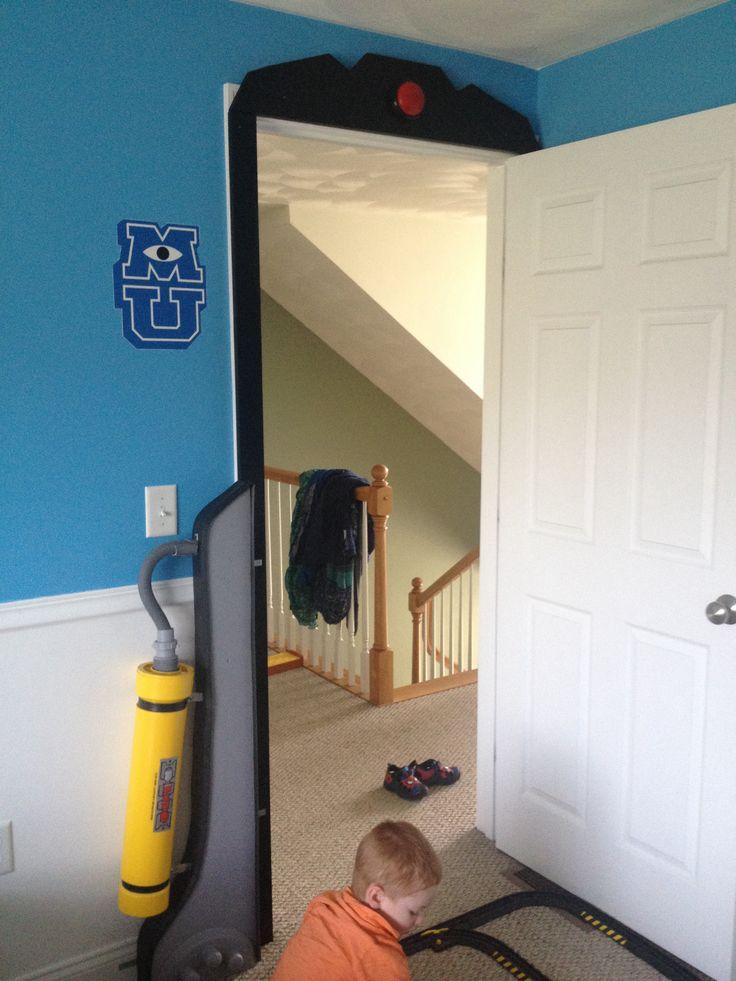 Monsters University Door Kids Bathroom Kids Room