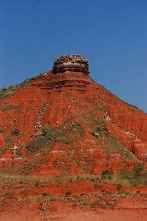 Gloss Mountains-Oklahoma, USA