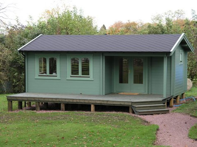 Custom Built Log Cabins for Sale in Scotland || Log Cabins Scotland