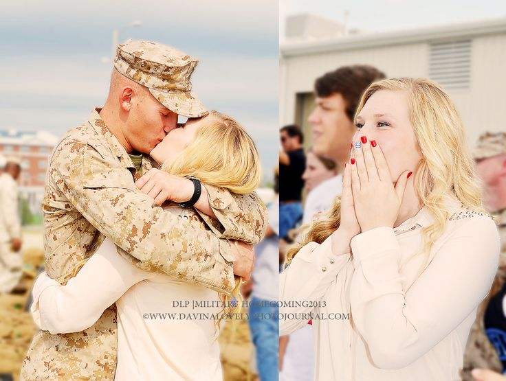 My Beautiful Military Homecoming Clients! Raw Emotions=Happy Moments! www.davinalovelyphotojournal.com