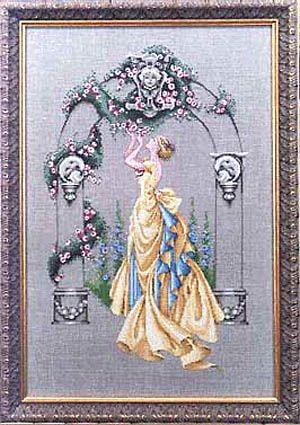 Rose of Sharon (The) (MD3) da Mirabilia Design - Nora Corbett - Schemi Punto Croce - Ricamo - Casa Cenina