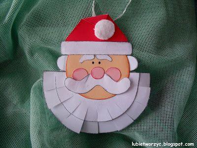 Święty Mikołaj - dekoracja wisząca na choinkę ;)  #choinka #zima #SwietyMikolaj #choinka #dekoracja #ozdoba #lubietworzyc #DIY #craft   #handmade  #swieta   #dekoracjeswiateczne   #BozeNarodzenie   #christmas  #christmasdecoration #christmascraft #preschool #kindergarten #preschooldecoration #dekoracjeprzedszkolne #winter #SantaClaus #christmastree