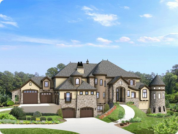 A Real Modern Day Castle 8931 Sq Ft 6 Garage Stalls 6