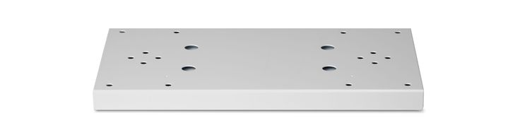 Architectural Mailboxes 5112 Double Mailbox Spreader for Standard Posts Pearl Gray Mailboxes Accessories Spreader