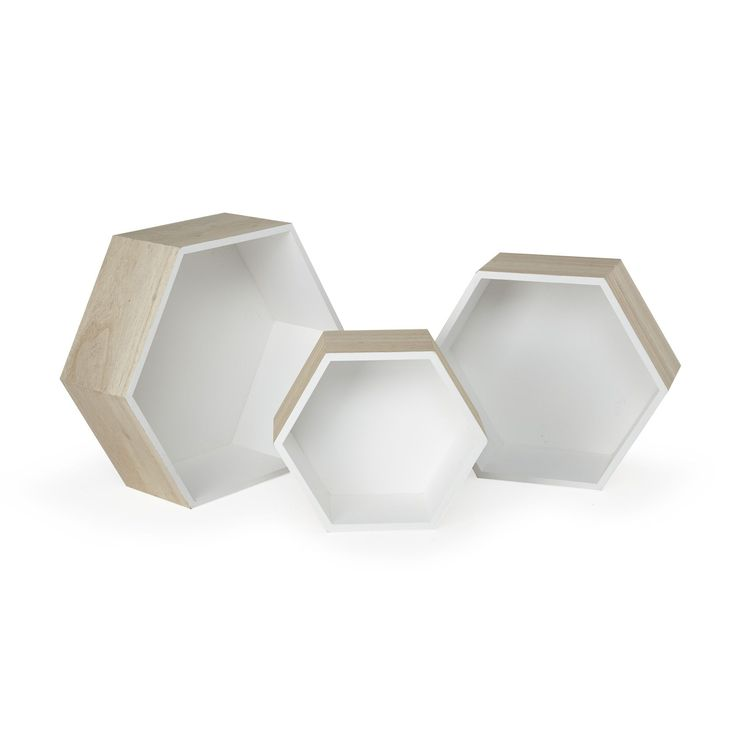 etagere hexagonale tati. Black Bedroom Furniture Sets. Home Design Ideas