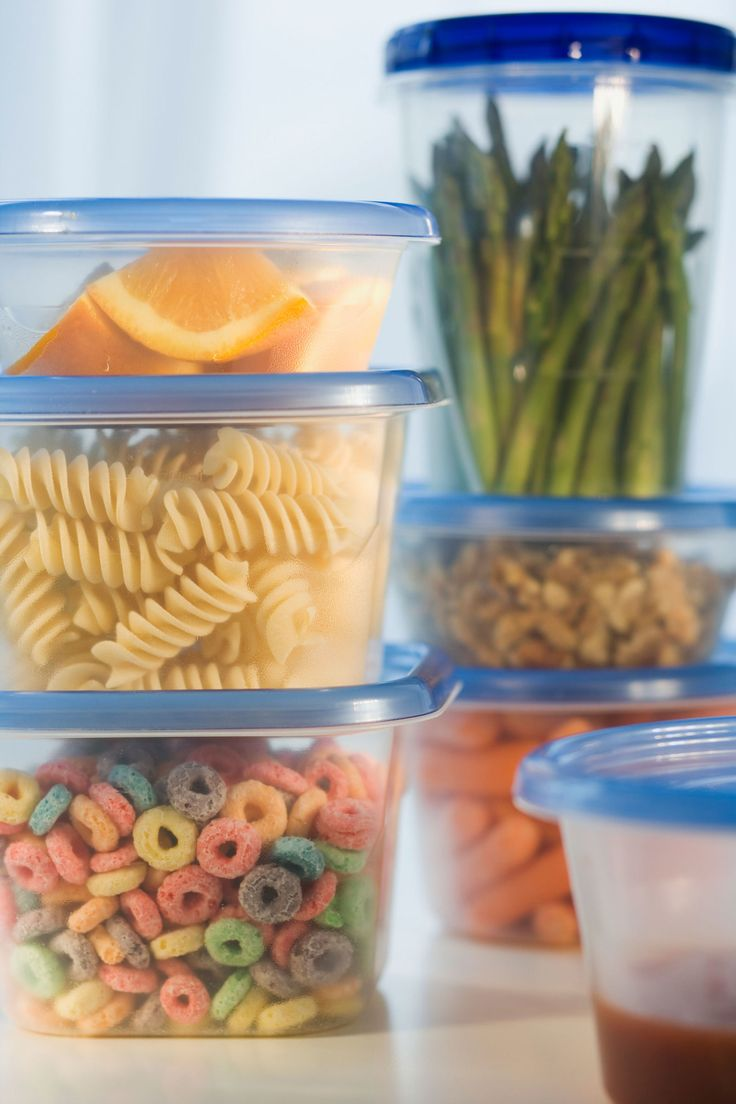 Avoid plastic wrap and plastic food containers when possible—they may be dangerous to your family.
