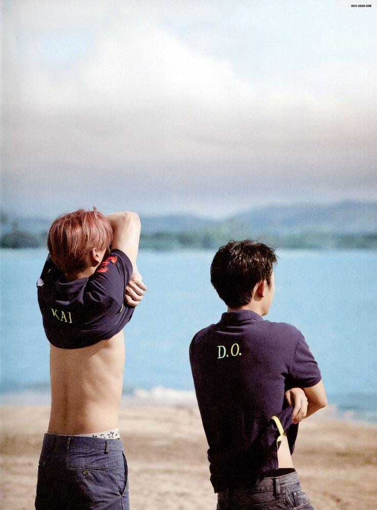 Kai and D.O   EXO Dear Happiness photobook 2016 <3