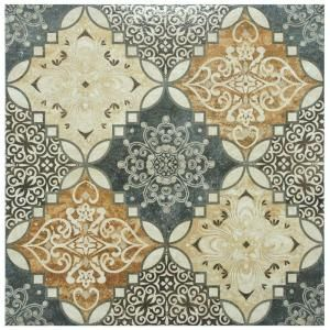 Merola Tile Traver Home Decor 17-3/4 in. x 17-3/4 in. Ceramic Floor and Wall Tile (15.62 sq. ft./case)-FPM18THD at The Home Depot