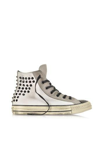 Ctas Salut Denim Fleur Effiloché - Chaussures - High-tops Et Baskets Converse EJpvwB