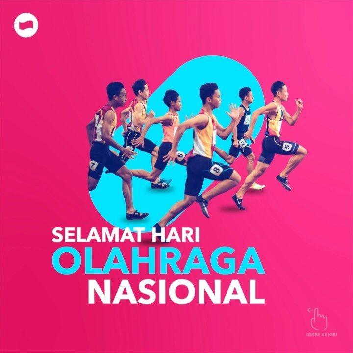 Selamat Hari Olahraga Nasional Temandana Yuk Terus Dukung Atlet Atlet Kebanggaan Indonesia Yang Mengharumkan Nama Ayo Do Online Movie Posters Online Payment