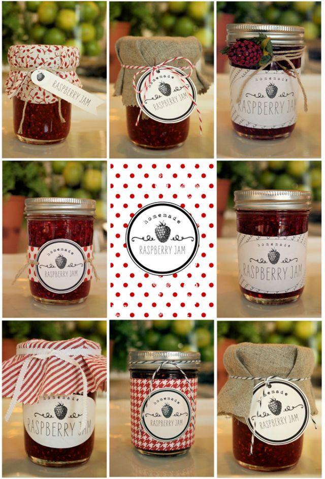 Mermelada de moras, Cómo conseguir la mermelada perfecta e Imprimibles para decorar tarros de mermelada • Arts & Crafts