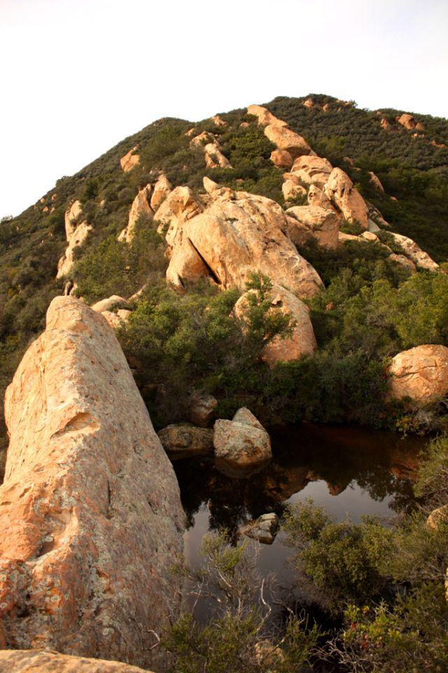 San Ysidro Canyon in Montecito, California, USA