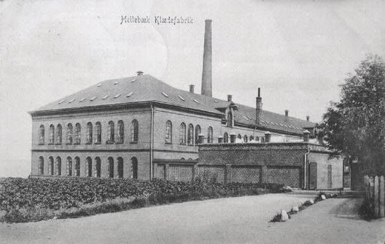 Hellebæk Klædefabrik 1906