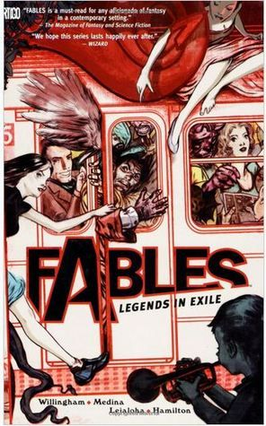 Fables Vol. 1  Published January 1st 2010 (so.. modernday& fairytales? why haven't I read this)