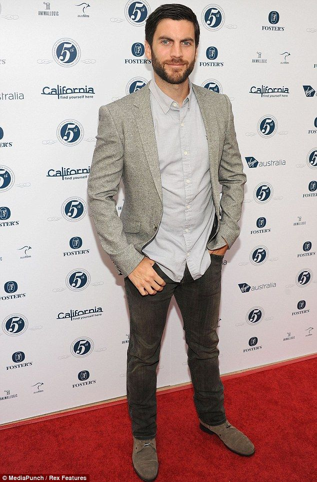 Clean and sober: Wes Bentley recently opened up about his recovery from heroin addiction, pictured in Los Angeles in June