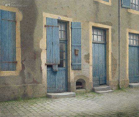 Deuren in Moulin Engilnert (Fr) Art:Maarten 't Hart