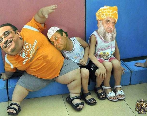 funny photo of zardai on dunkey   Image Funny Pakistan Politics Part Of Pakistani Politician