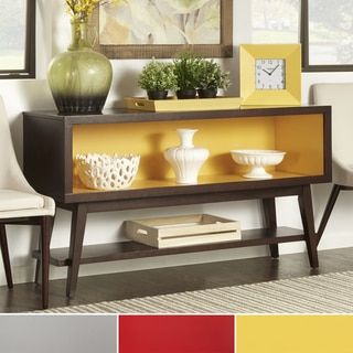 Shop for MID-CENTURY LIVING Sasha Angled Leg Open Shelf Console Table. Get free delivery at Overstock.com - Your Online Furniture Shop! Get 5% in rewards with Club O!