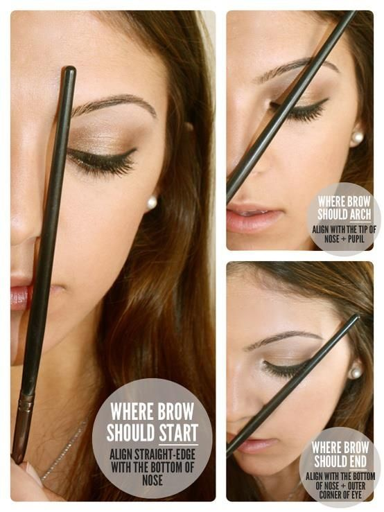 #howto #makeup #eyebrow #eyes #beauty #beautytips