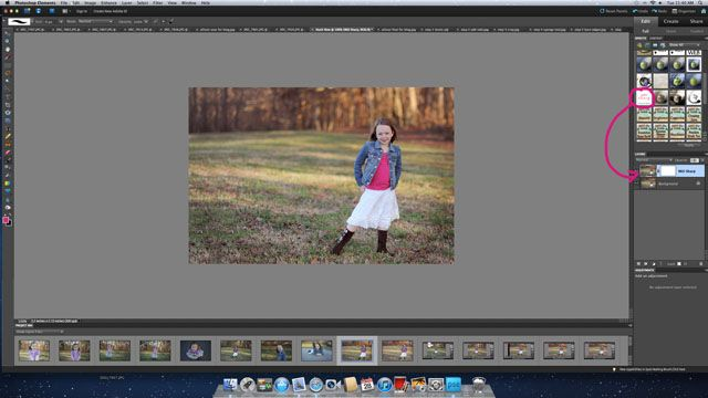 editing in photoshop elements | a before and after | ClickinMoms
