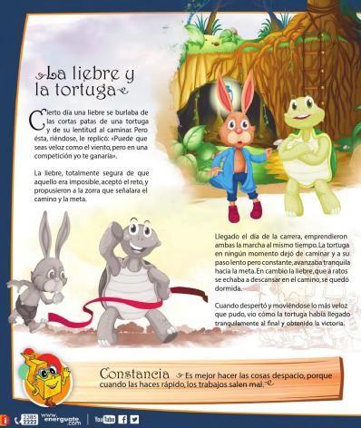 Las fábulas para niños son una de las principales herramientas en la educación y la enseñanza infantil. La mayoría de estos cuentos educativos enseñan los valores más importantes de la …