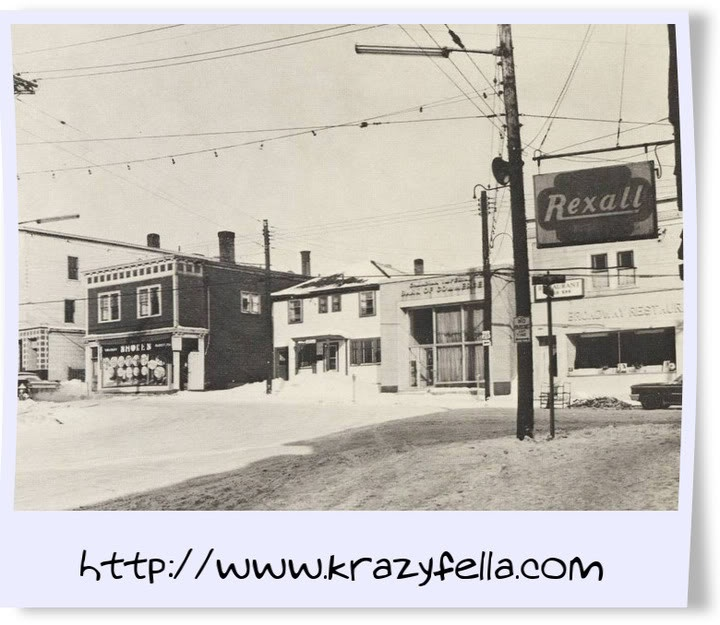 Broadway Restaurant-Main St-Glace Bay-Cape Breton Island_1965 http://Capermemories.Com
