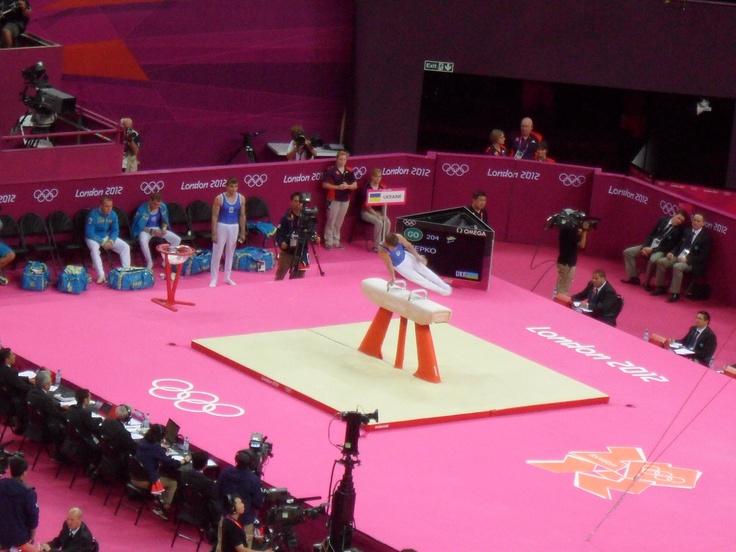 London 2012 Mens Gymnastics Team Classification 3, Pommel Horse