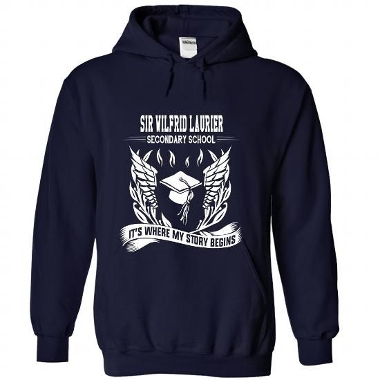 Sir Wilfrid Laurier Secondary School - Its where my sto - #vintage shirt #turtleneck sweater. LIMITED TIME PRICE => https://www.sunfrog.com/No-Category/Sir-Wilfrid-Laurier-Secondary-School--Its-where-my-story-begins-3369-NavyBlue-Hoodie.html?68278