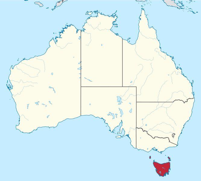 File:Tasmania in Australia.svg