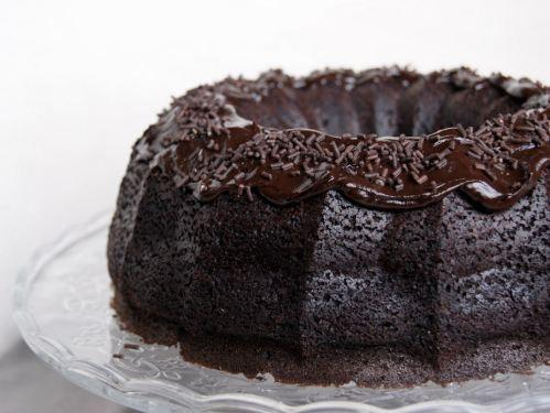 Chocolate & Guinness Bundt Cake    [RECIPE]