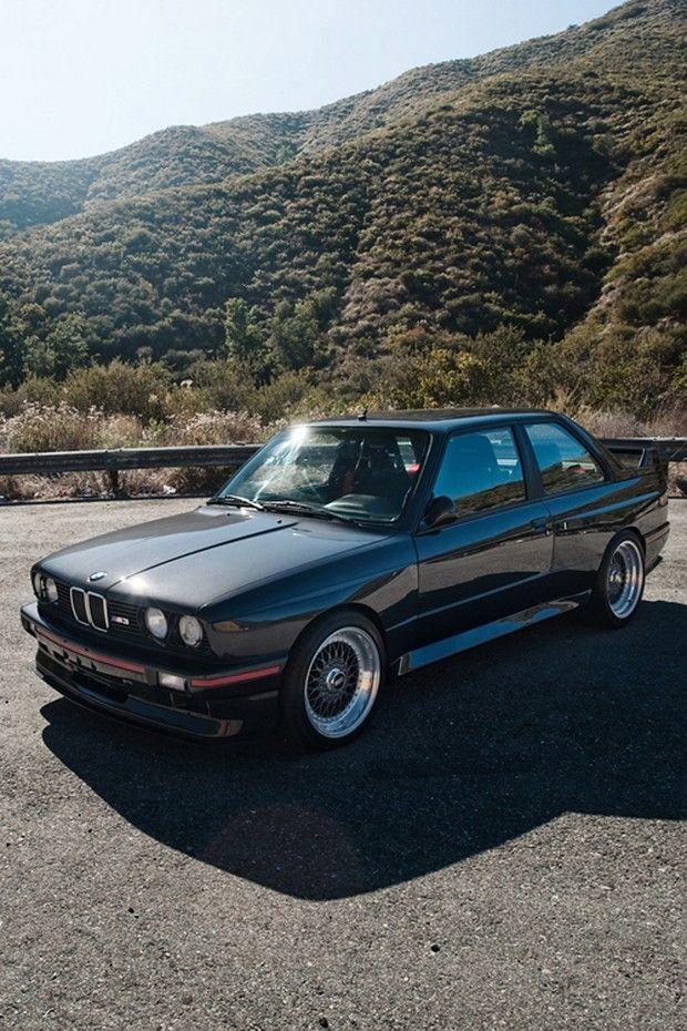 E30 BMW M3 with BBS split rims #FieldsBMW #FieldsAuto #BMW want more? visit - http://themotolovers.com
