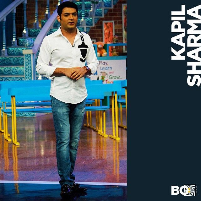 We got the man with all the quirk in the world to sport our quirkiest stylish best! Watch out for this Sunday's episode of Comedy Nights with Kapil on Colors!  #kapilsharma #comedynightswithkapil #comedian #style #white #shirt #bosquare #mensfashion #menstyle #suave #quirk #print #dapper #bollywood #edgy #bespoke #celebrity #fashion #mumbai